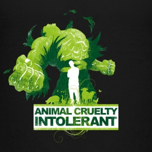 ANIMAL CRUELTY INTOLERANT - Teenage Premium T-Shirt