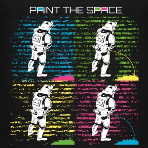 Troop Art - PAINT THE SPACE - Stormtrooper Party - Teenager Premium T-Shirt
