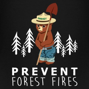 A LITTLE SMOKEY PREVENT FOREST FIRES - Teenage Premium T-Shirt