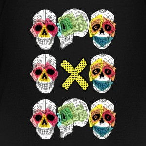 TRIO CALAVERA X - Teenager Premium T-shirt
