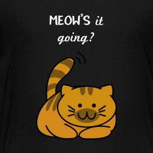MEOW Cat Sweet - Teenage Premium T-Shirt
