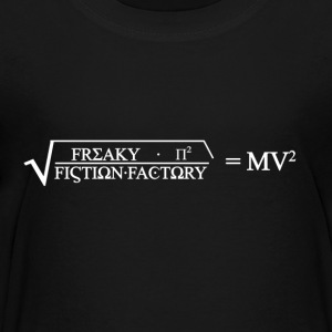 Freaky Fiction formeln - Premium-T-shirt tonåring