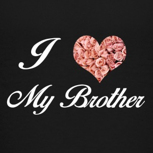 I LOVE MY BROTHER - Premium T-skjorte for tenåringer