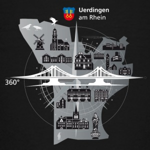 Uerdingen am Rhein 360 ° - Teenage Premium T-Shirt
