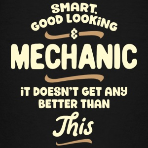 Intelligent, gutaussehend und Mechaniker... - Teenager Premium T-Shirt