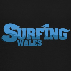 WALES Surfing Country Water - Teenage Premium T-Shirt