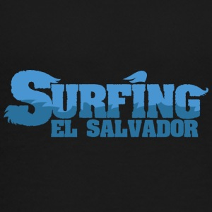 EL SALVADOR Surfing Water Country - Premium-T-shirt tonåring