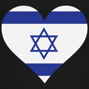 A Heart For Israel - Teenage Premium T-Shirt