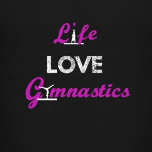 LiveLoveGymnastik - Teenager Premium T-Shirt