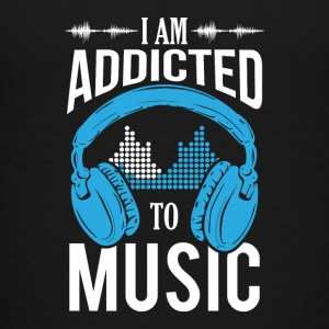 I Am Addicted To Music - Teenager Premium T-Shirt