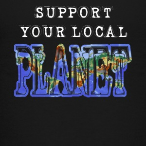 support local Planet save earth rettet die Welt - Teenager Premium T-Shirt