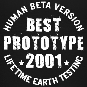 2001 - The birth year of legendary prototypes - Teenage Premium T-Shirt