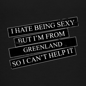 Motive for cities and countries - GREENLAND - Teenage Premium T-Shirt