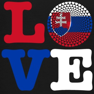 SLOVAKIA HEART - Teenage Premium T-Shirt