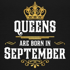 Queensborn September - Teenage Premium T-Shirt