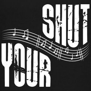 Shut your music - Teenager Premium T-Shirt