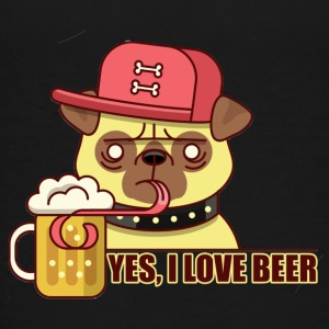 YES I Love Beer - Teenager Premium T-shirt