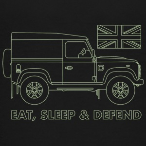 Eat, Sleep & Verteidigung - Teenager Premium T-Shirt