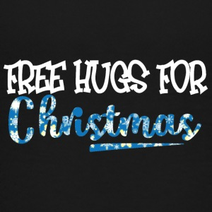 Jul: Free Hugs For Christmas - Premium-T-shirt tonåring