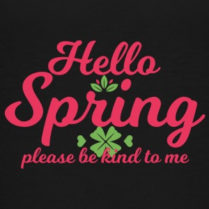 Springbreak / Springbreak: Hello Spring, please - Teenage Premium T-Shirt