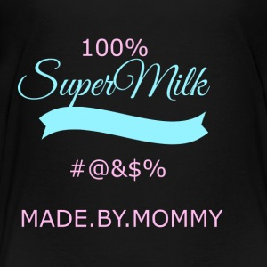 super transparent milk - Teenage Premium T-Shirt