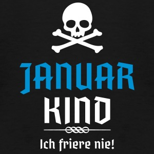Januar Kind Geburtsmonat - Teenager Premium T-Shirt