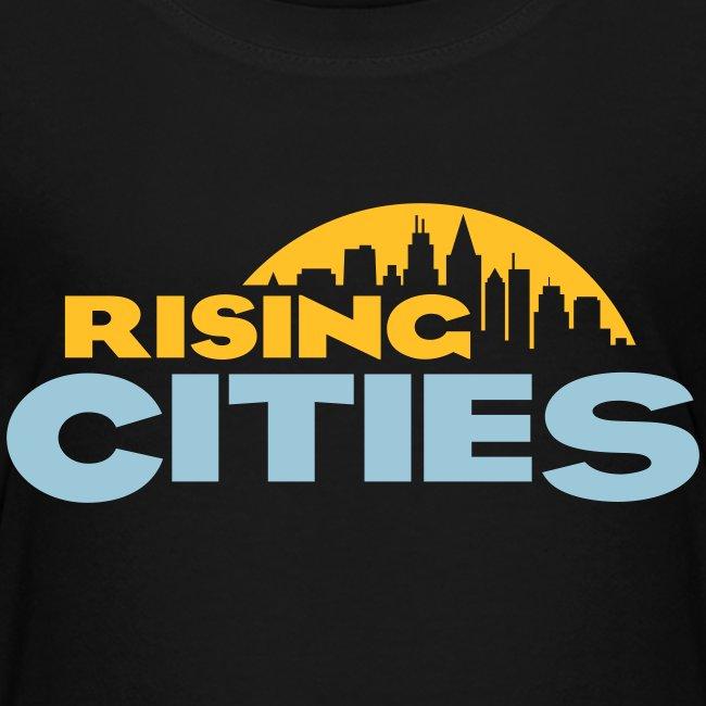 Rising Cities Logo stylized