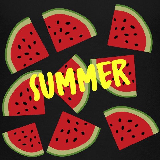 Sommer Sonne Wassermelone