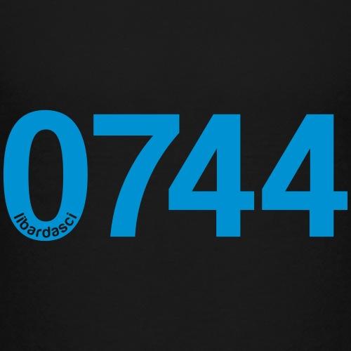 0744: Prefisso di Terni - Maglietta Premium per ragazzi