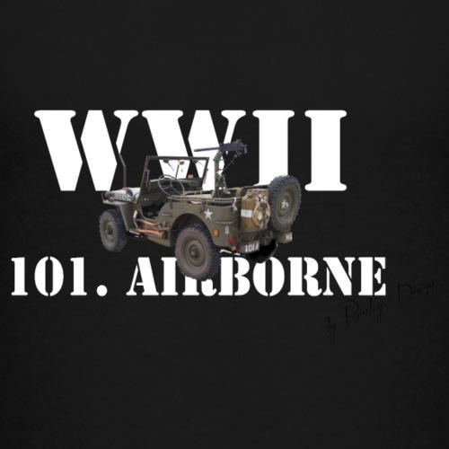 101 airborne png - Teenager premium T-shirt