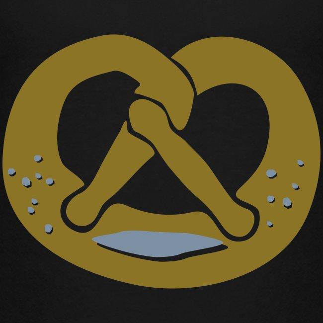 Brezel - golden
