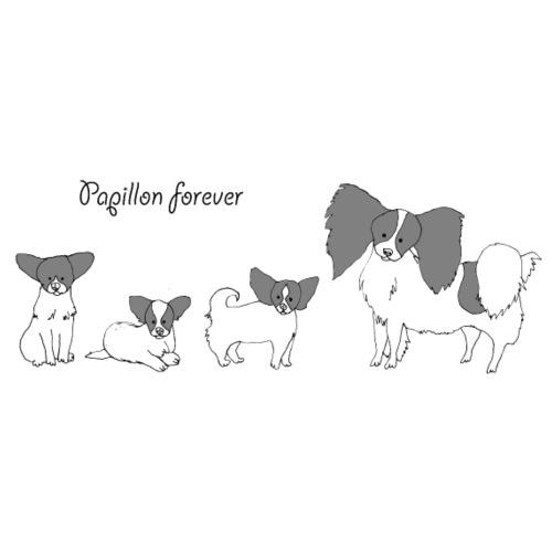 papillon forever - Teenager premium T-shirt