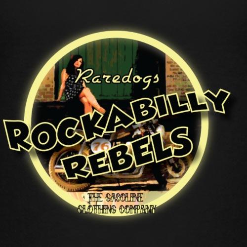 rockabilly rebels pinup - Teenager premium T-shirt