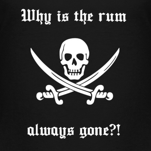 Why is the run always gone - Teenager Premium T-shirt