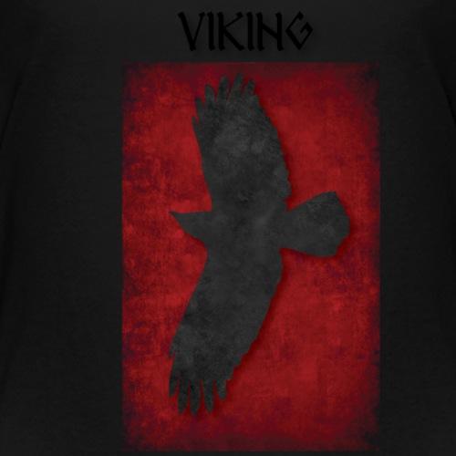 ravneflaget viking - Teenager premium T-shirt
