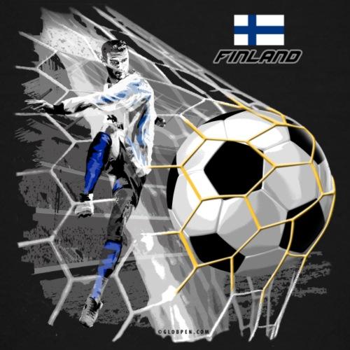 GP22F-05 FINLAND FOOTBALL PRODUCTS - Tuotteet - Teinien premium t-paita
