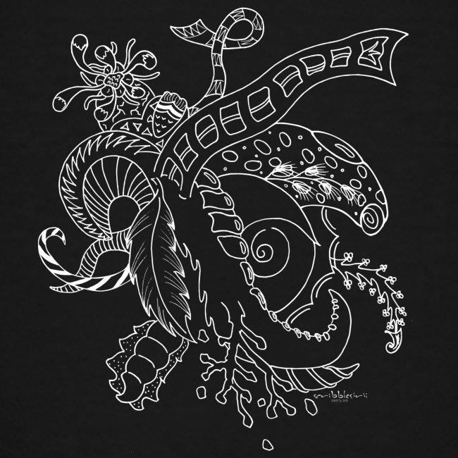 Fantasie Fantasy white scribblesirii