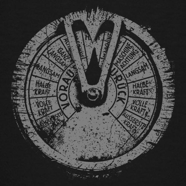 Maschinentelegraph (szary oldstyle)