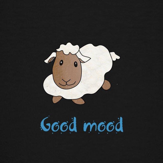 Nadège le petit mouton blanc