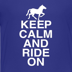 Just RIDING - Teenage Premium T-Shirt