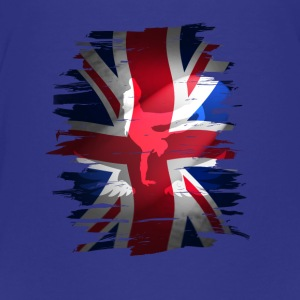 Union Jack skater Uk Flagge England London lol coo - Teenager Premium T-Shirt