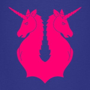 Double Unicorn - Teenage Premium T-Shirt
