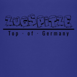 Zugspitze med snö - Top of Germany - Premium-T-shirt tonåring