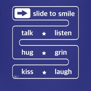 slide to smile ... - Teenage Premium T-Shirt