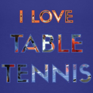I LOVE TABLE TENNIS - Premium-T-shirt tonåring