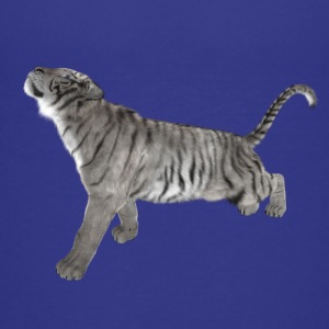 White Tiger - Teenage Premium T-Shirt