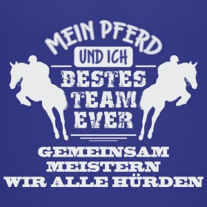 Pferdedesign Bestes Team Ever - Teenager Premium T-Shirt