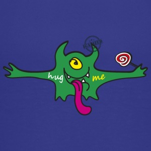 """Hug me"" Monsters Every little monster needs a hug - Teenager Premium T-Shirt"
