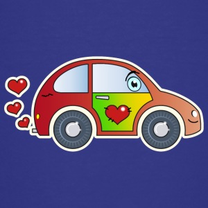 Kids Car Toy Car heart colorful merry children - Teenage Premium T-Shirt