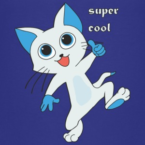 Gatito super cool - Camiseta premium adolescente